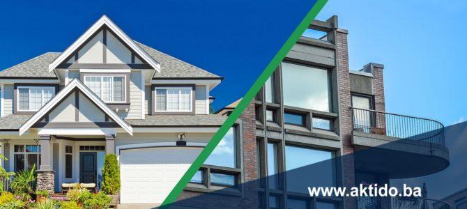 Kuća ili stan, šta je vaš izbor?